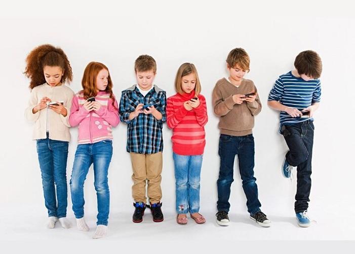 Взаимодействие детей и гаджетов