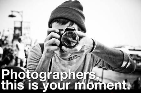 Вакансия: фотограф