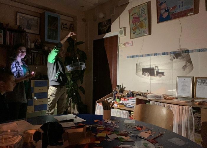 Прямой эфир в рамках проекта «Зеленый телевизор»