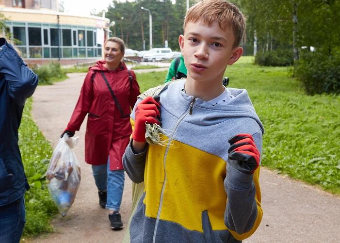 Детское волонтерство